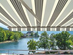 Markilux ES-1 Awning - Perfect for patios with a view