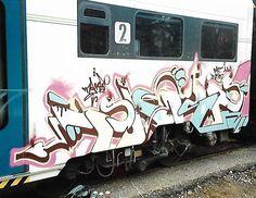 Taf FN, 2002. Morning. #train #writing #treno #graffiti #aerosolart #velocità #divertimento #garbagnate