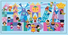 About a year ago, I had the opportunity to create a mural based on Mary Blair's artwork for It's A Small World . The mural was supposed to...