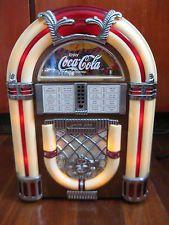 Coca Cola AM/FM Radio Cassette Jukebox