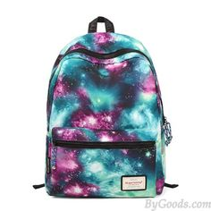 Cheap Vintage Galaxy Colorful Couple Waterproof Backpack School Bag For Big Sale!Vintage Galaxy Colorful Couple Waterproof Backpack School Bag Is Your Perfect School Bag. Galaxy Backpack, Lace Backpack, Striped Backpack, Rucksack Backpack, Laptop Backpack, Travel Backpack, Laptop Bags, Travel Bags, Cute Mini Backpacks