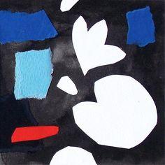 """andrea mattiello """"Sognare a colori""""acrilico e collage su cartone vegetale cm 10x10; 2015#art #artistaemergente #emergingartist #collage #paper #cardboard"""