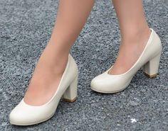 Sapato Salto Robusto