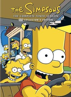 The Simpsons: The Complete Tenth Season [3 Discs] (DVD) - Larger Front
