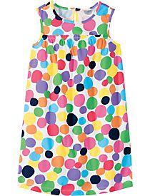 multi dot dress