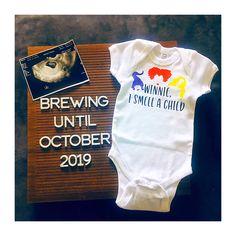 Baby Announcement To Parents, October Baby, Be My Baby, Children, Kids, Onesies, Pregnancy, Young Children, Young Children
