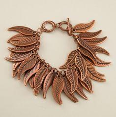Multi Leaf Bracelet.