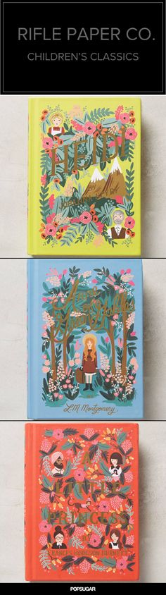 Loving Rifle Paper Co.'s colorful take on these children's classics