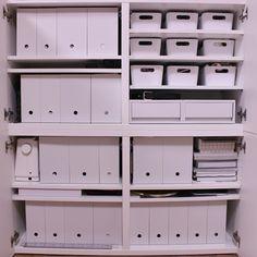 超人気!無印良品とニトリのファイルボックスを徹底比較 | RoomClip mag | 暮らしとインテリアのwebマガジン