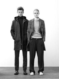 Love her look. So effortlessly elegant - Fall Winter Fashion - AD WOMAN Adolfo Dominguez