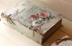 shabby book inspiration