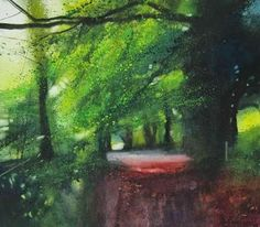 Gilly Marklew watercolour artist and tutor