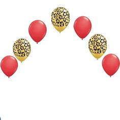 Check out this item in my Etsy shop https://www.etsy.com/listing/478648837/leopard-red-my-birthday-party-balloons