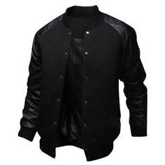 Baseball Style Bomber Jacket