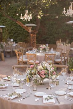 Firestone Vineyard courtyard reception in California