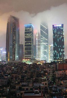 City vs Favelas