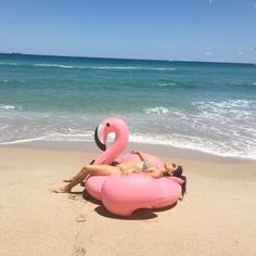 #vacation #flamingofloat #float #beach