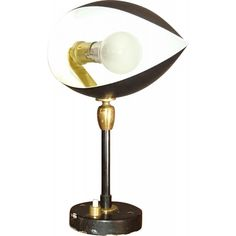 Eye wall lamp in lacquered metal by Serge MOUILLE from the 50s. In good vintage condition.