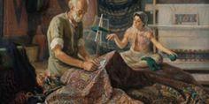 Μια φορά κι έναν καιρό στα βάθη της Περσίας ήταν το πιο όμορφο, το πιο πολύτιμο, το πιο ακριβό και ξ Jafar, Iranian Art, World History, Metal Working, Persian, Weaving, Sculpture, Painting, Google Search