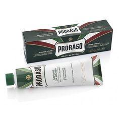 Proraso Shaving Cream Tube - Refreshing and Toning (Green)