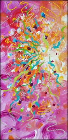 emotional color explosion painting by nestor toro 2018 nestor toro