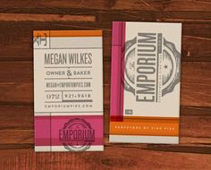 Branding and design by Oklahoma City-based Foundry Collective for Emporium Pies.