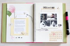 SO freaking in love with Carly's smash book--and using Paislee Press stuff, to boot! <3