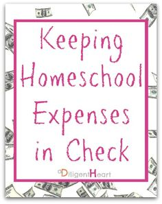 Keeping Homeschool Expenses in Check