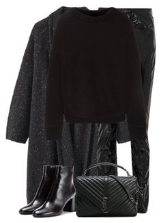 """""""Untitled #3298"""" by elenaday ❤ liked on Polyvore featuring Toast, Yves Saint Laurent and The Elder Statesman"""