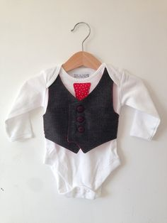 Baby boy christmas outfit for first christmas by ThisisLullaby, £15.00