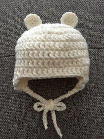 Häkelanleitung Baby Bären Mütze