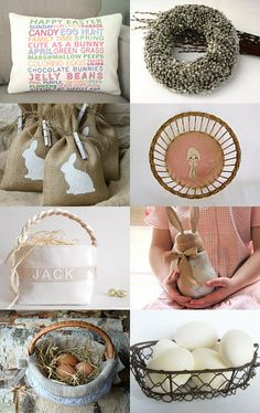 Spring Flings And Easter Things by Jja Drown on Etsy--Pinned with TreasuryPin.com