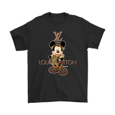 Are you a massive fan of Mickey Mouse. This shirt is so funny, the perfect combination of Louis Vuitton Logo and Mickey Mouse. Don't hesitate to get this shirt now, it makes you more awesome. Gucci T Shirt Mens, Mini Mousse, Safari Shirt, Mickey Mouse T Shirt, Branded T Shirts, Adidas Logo, Surf, Graphic Tees, Women Wear