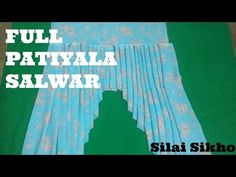 Patiala Salwar Cutting & Stitching in simple & easy method (DIY) Patiala Pants, Patiala Salwar, Kurti, Anarkali, Sewing Pants, Sewing Clothes, Sewing Tutorials, Sewing Patterns, Sewing Projects