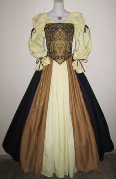 Ornate Sophistication - medieval renaissance steampunk clothing