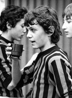 Maldini in the Milan primavera.
