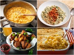 While I'll always have a special place in my heart for Kraft mac and cheese, I'm more likely to make it from scratch these days—homemade stovetop mac is almost as easy as the boxed stuff, anyway, and way tastier. Macaroni Recipes, Mac Cheese Recipes, Spinach Recipes, Pasta Recipes, Cooking Recipes, Baked Macaroni, Macaroni And Cheese Casserole, Creamy Macaroni And Cheese, Macaroni N Cheese Recipe