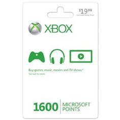 Xbox LIVE 1600 Microsoft Points [Online Game Code] --- http://www.amazon.com/Xbox-LIVE-Microsoft-Points-Online/dp/B001V7QIDO/?tag=dietexerciswo-20