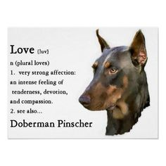 So very true! I found this from #Doberman Pinscher Fan Club. http://foreverfriendsfinestationeryandfavors.com