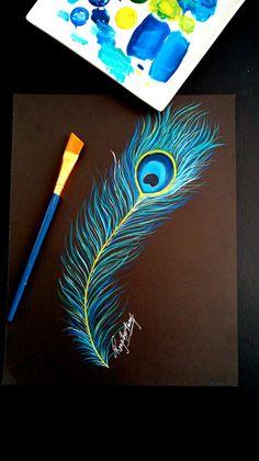 New inspirational canvas art tutorials ideas Canvas Painting Tutorials, Easy Canvas Painting, Acrylic Painting Canvas, Acrylic Art, Abstract Canvas, Canvas Painting Designs, Watercolor Art Diy, Watercolor Art Paintings, Easy Paintings