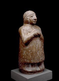 Statue  Sumerian, 2500 BC  The British Museum