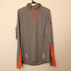 I just discovered this while shopping on Poshmark: Men's Fila Grey & Orange Sweatshirt. Check it out! Price: $15 Size: S