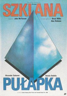 Die Hard (Polish) 27x40 Movie Poster (1988)