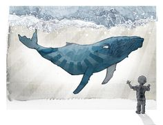 whale illustration - Cerca con Google
