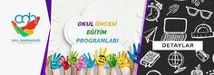 """""""Okul Öncesi Eğitim Programları"""" Eğitici ve yönlendiren makalemiz yayında! https://www.okuldanismanligi.com.tr/okul-oncesi-egitim-programlari/ #okulöncesi #preschool #anaokul #kreş #eğitim"""