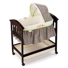 "Summer Infant Classic Comfort Wood Bassinet - Fox & Friends - Summer Infant - Babies ""R"" Us"