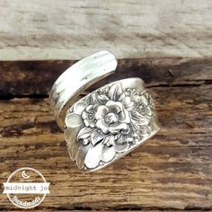 Vintage Wrapped Spoon Ring Jubilee Your Size MR0201-GJUB