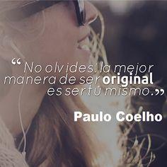 Il miglior modo per essere originale è essere te stesso!