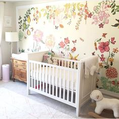 Beautiful nursery wall!