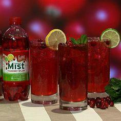 the chew | Recipe | Carla Hall's Cranberry Iced Tea